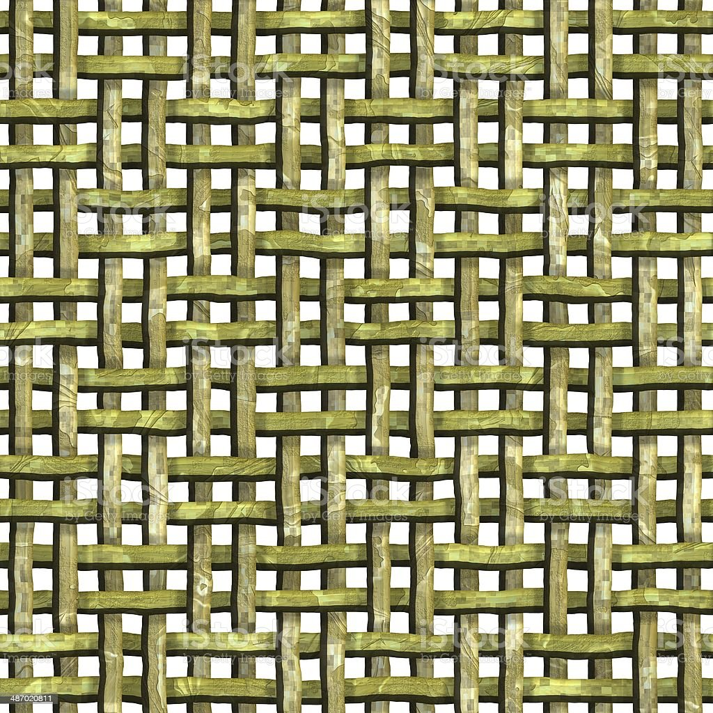Wood weave. Seamless texture.