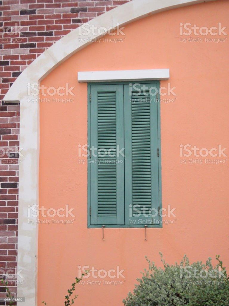 okno drewniane - Zbiór zdjęć royalty-free (Abstrakcja)