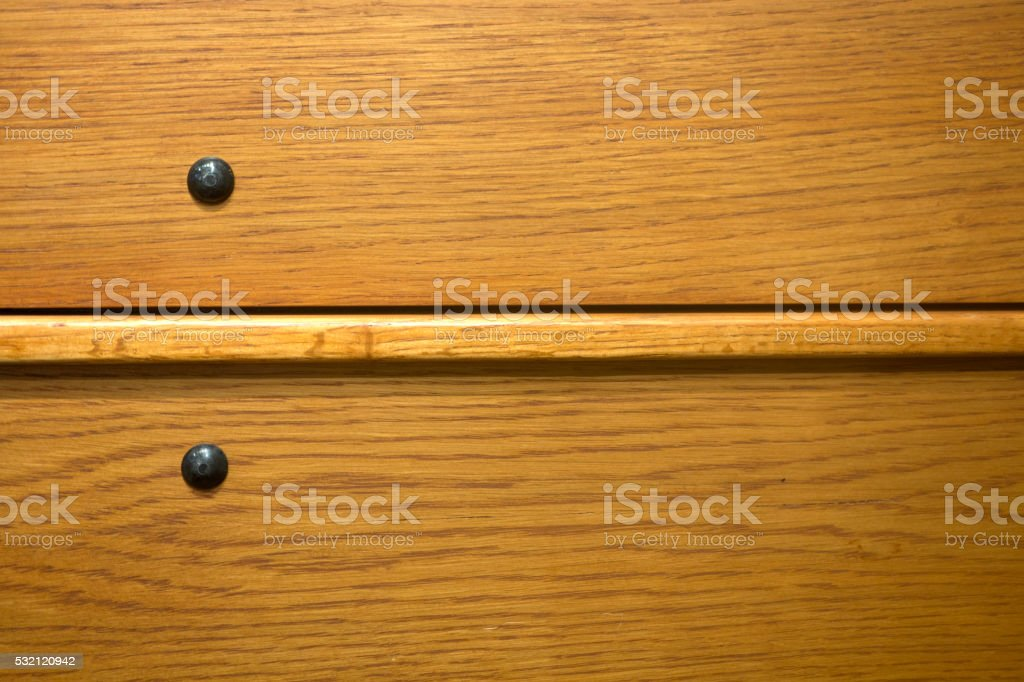 wood with metal rivets stock photo
