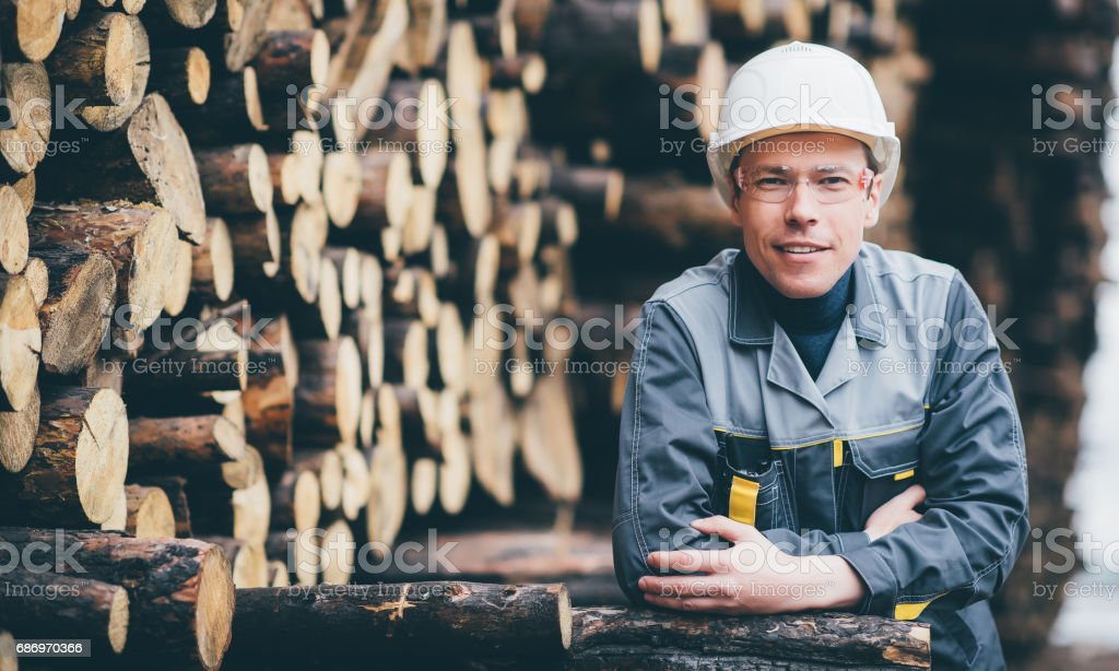 wood worker storage stock photo