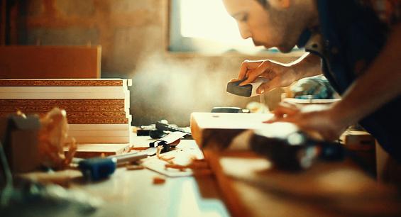 Wood working.