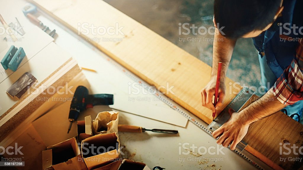 Wood working. stock photo