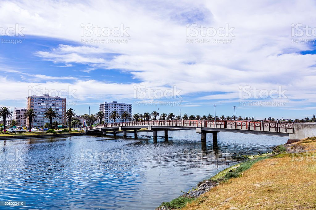 Woodbridge in Milnerton, Cape Town stock photo