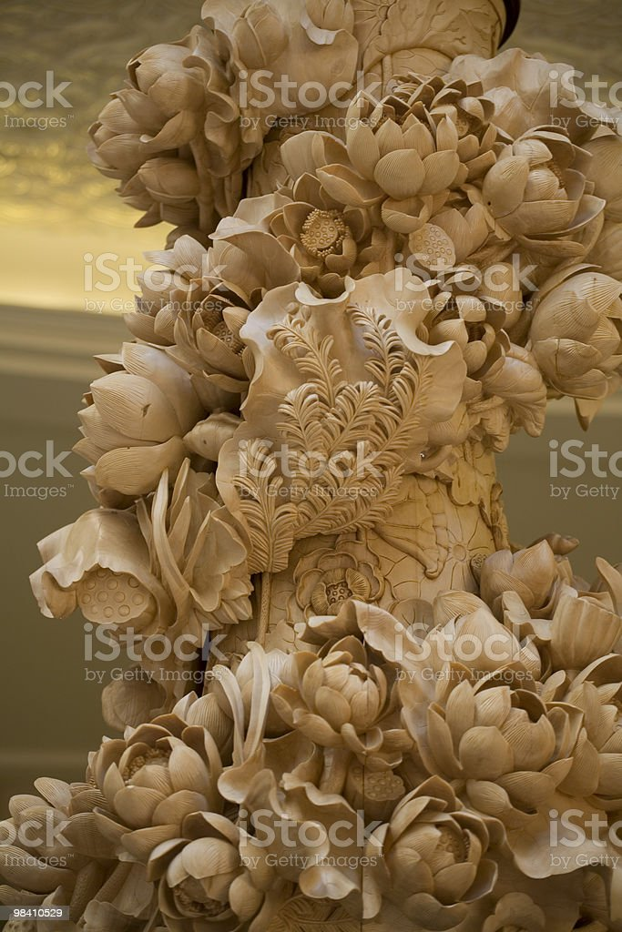 Woodcarving royalty-free stock photo