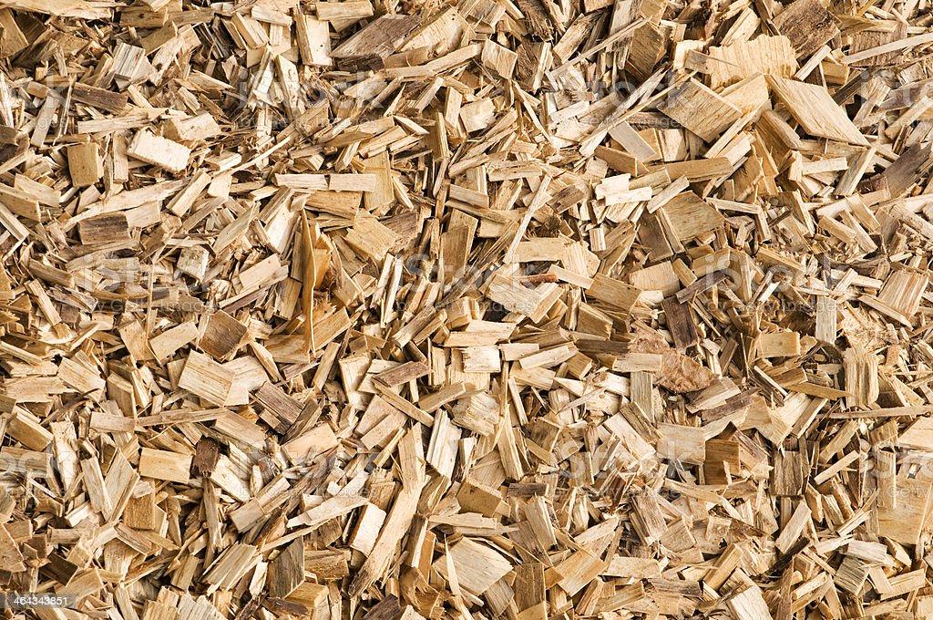 Woodchip background stock photo