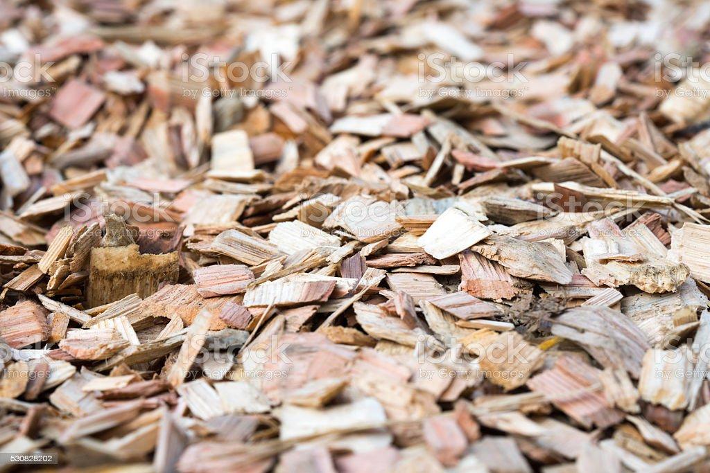 Woodchip stock photo