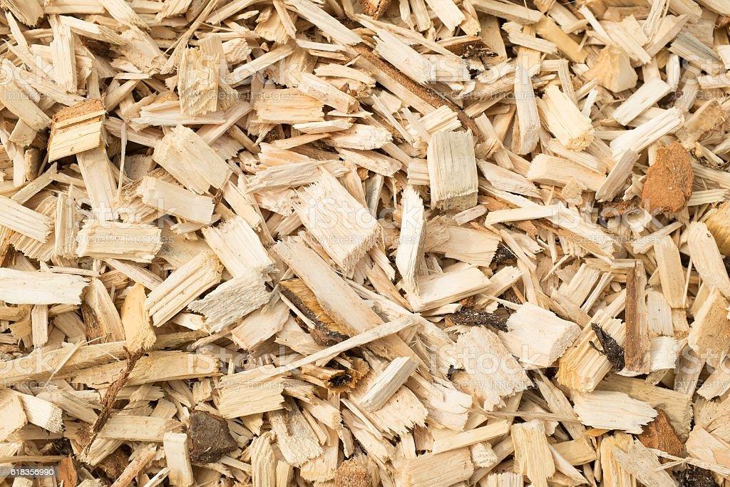 Woodchips stock photo