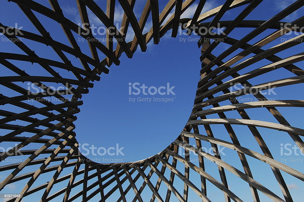 Abstrait en bois photo libre de droits