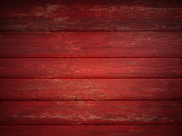 wooden abstract red background texture - Photo
