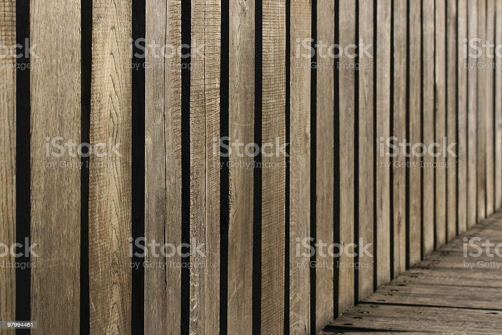 Wooden Abstraction royalty-free stock photo