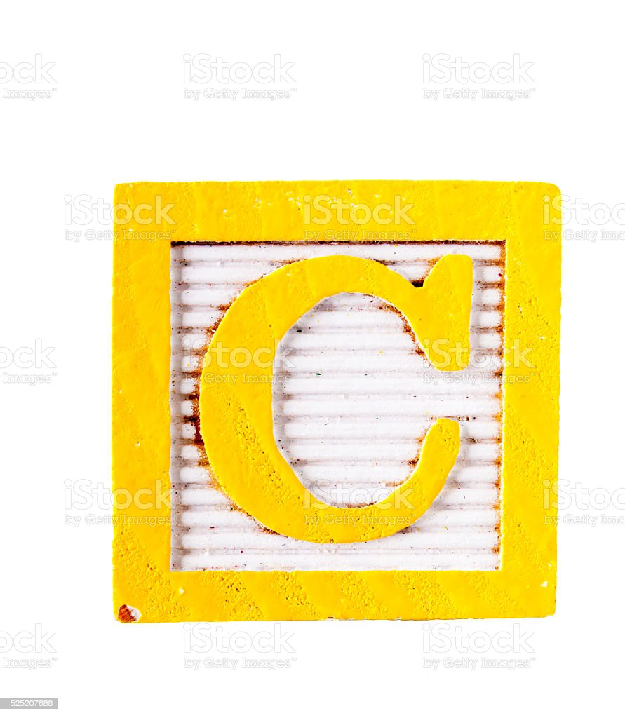 12b8aac1388 Wooden Alphabet Block Letter C Isolated On White Stock Photo   More ...