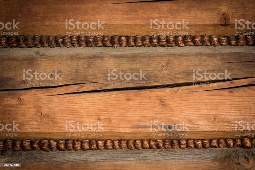 Arquitetura de madeira da casa de montanha - Foto de stock de Antigo royalty-free