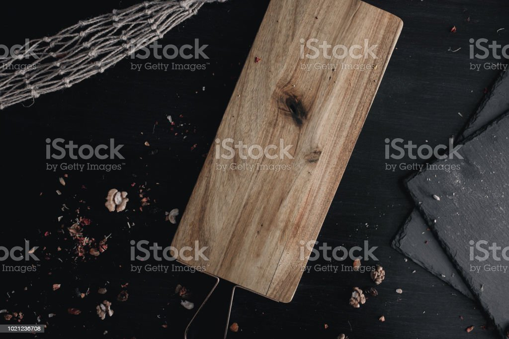 Wooden Background For Isolated Objectives Text With
