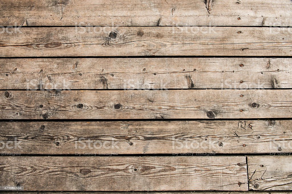 Wooden background of boat desks stock photo