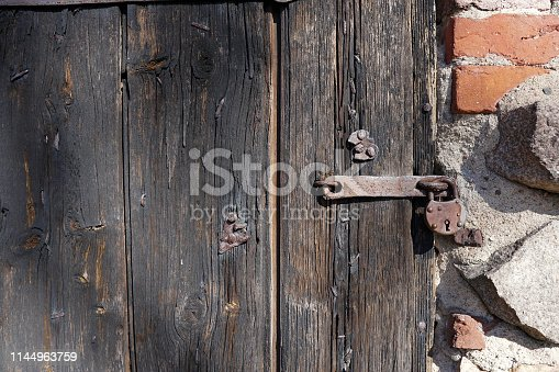 Plank wall background