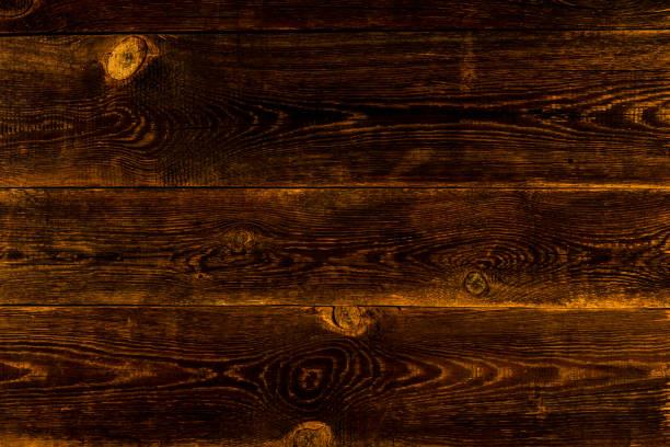 Holz-Hintergrund. Textur mit alten, rustikalen, braunen Brettern – Foto