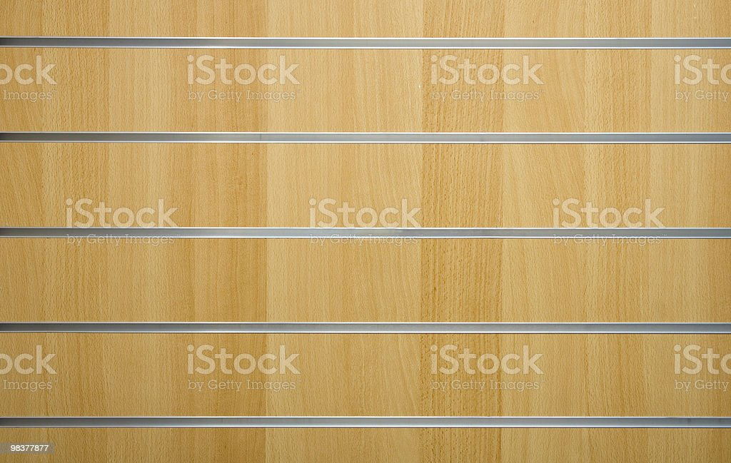wooden background with metal lines royalty-free stock photo