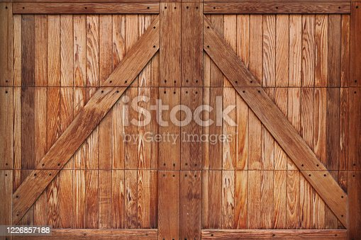 Wood board texture stock photo, wooden boards on door