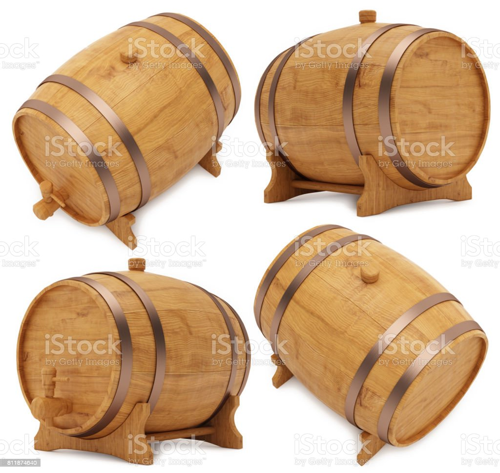 Wooden Barrel Cask Or Tun Stock Photo Download Image Now Istock