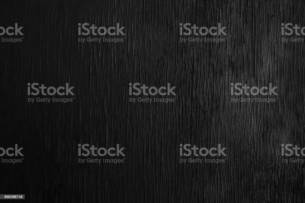Wooden black background, blank designer stock photo