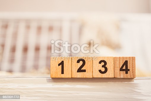 istock Wooden block number one two three four 932331772