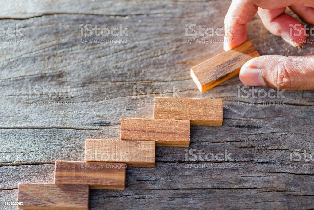 Bloc de bois photo libre de droits