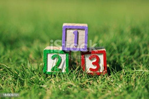 657779378 istock photo Wooden blocks cube 184909701