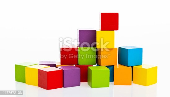 1134528355 istock photo Wooden blocks on white background 1177672133