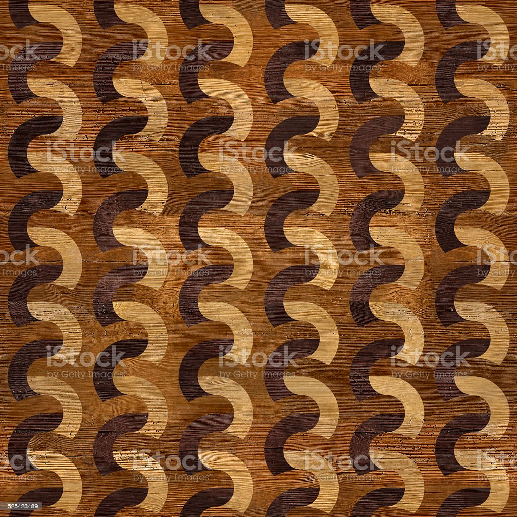 Wooden blocks stacked for seamless background stock photo