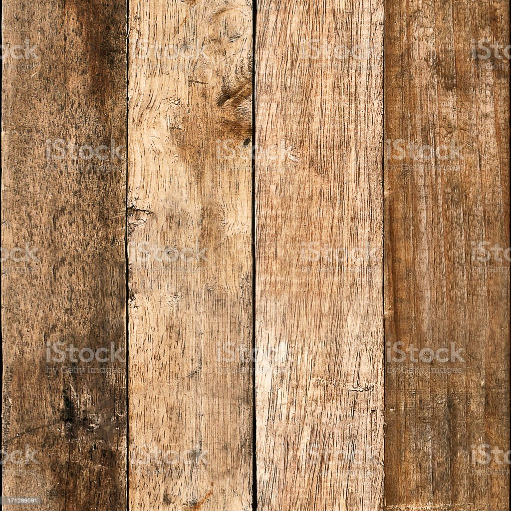 Wooden Board Background Tile (Seamless In All Directions) royalty-free stock photo