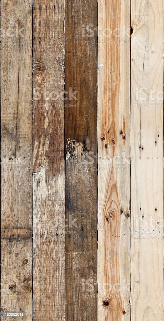 Wooden Board Background Tile (Seamless In All Directions) stock photo