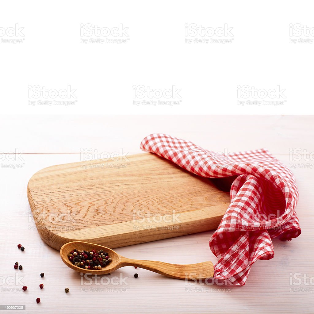 wooden board over grunge background stock photo