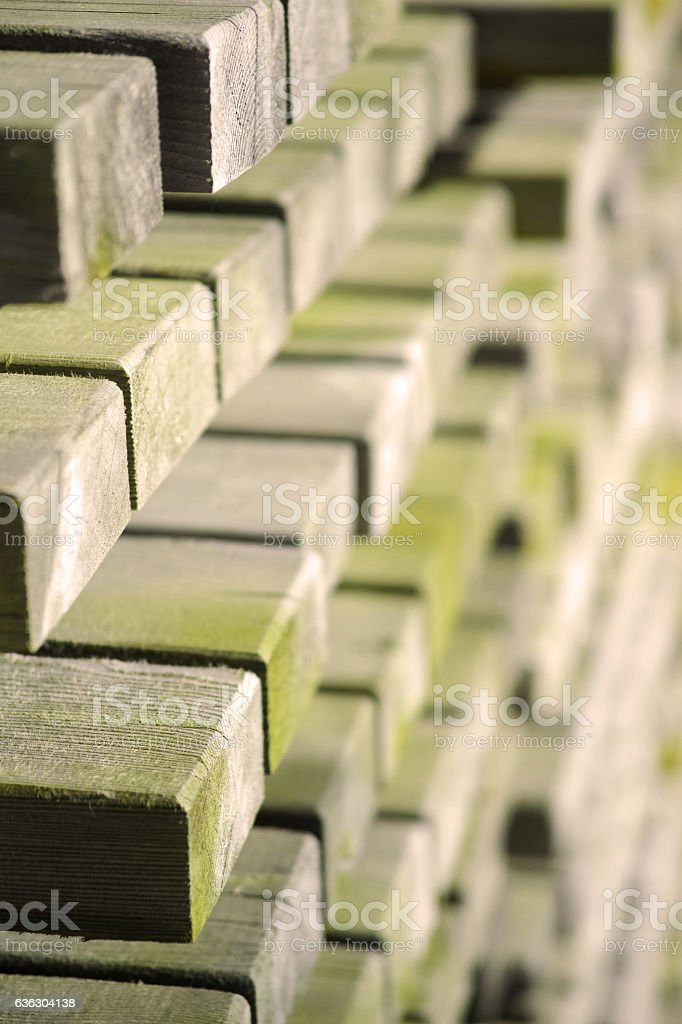 Wooden Boards Close Up stock photo