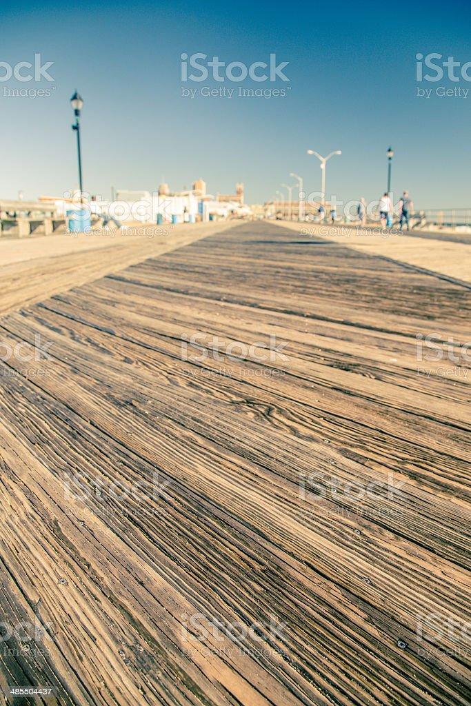 Wooden Boardwalk stock photo