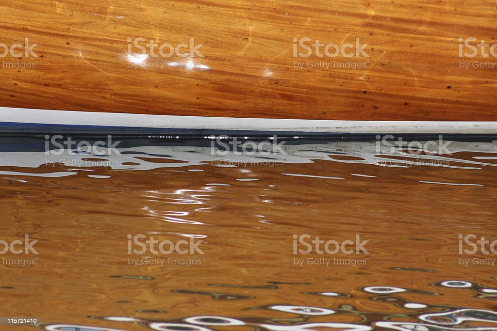 Holz-Boot-Detail – Foto