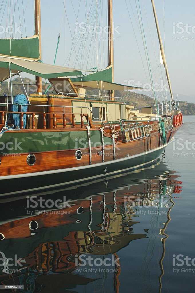 Wooden Boat stock photo