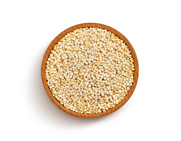 Wooden bowl of quinoa seeds isolated on white background top view picture id1168462285?b=1&k=6&m=1168462285&s=612x612&w=0&h=6t1sjw1xfmgvty8mwaljhywwnic0sjvp3bolwib2thg=