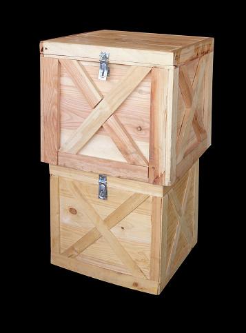 검은 배경에 고립 된 나무 상자 0명에 대한 스톡 사진 및 기타 이미지