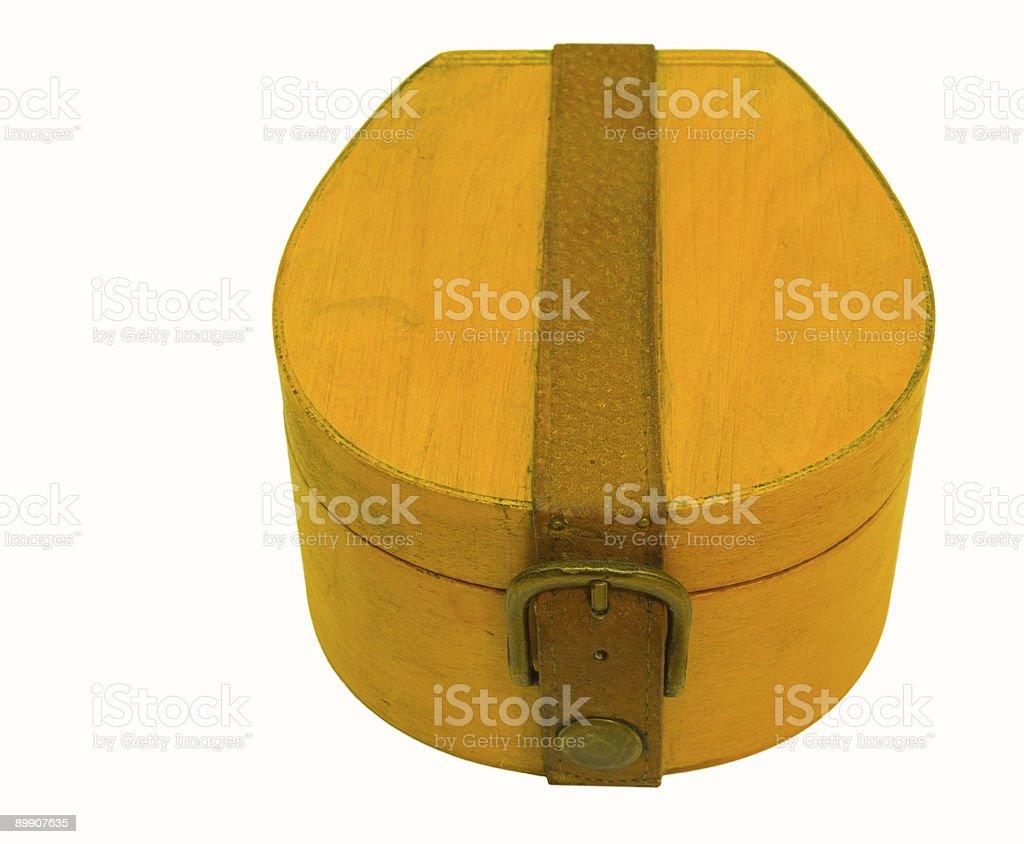 Wooden box royalty-free stock photo