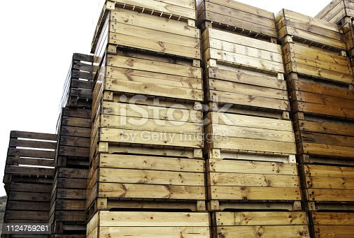 1200139538 istock photo Wooden boxes manufactures 1124759261