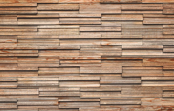 wooden bricks slate wall texture background - wood stone bildbanksfoton och bilder