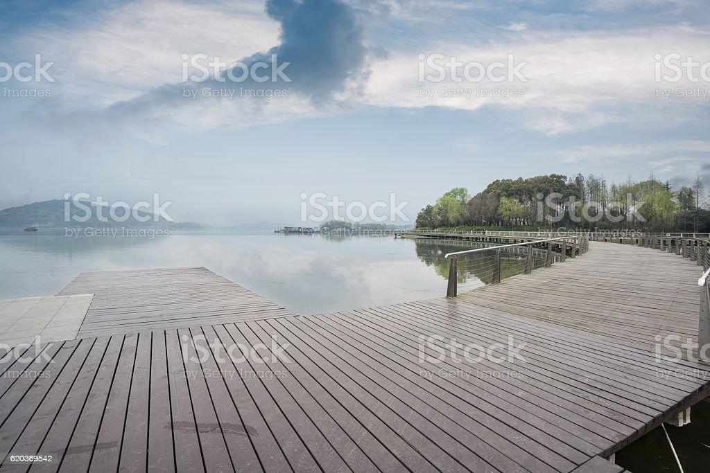 Drewniany Most  zbiór zdjęć royalty-free