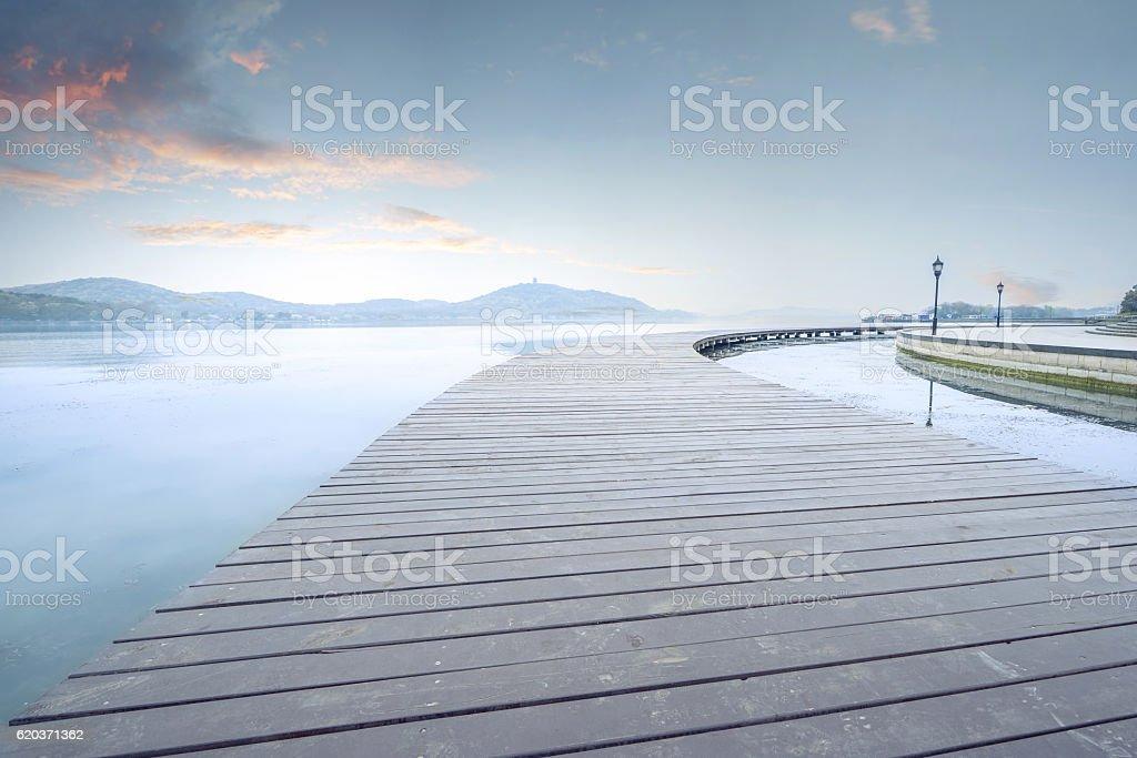 Ponte de Madeira foto de stock royalty-free