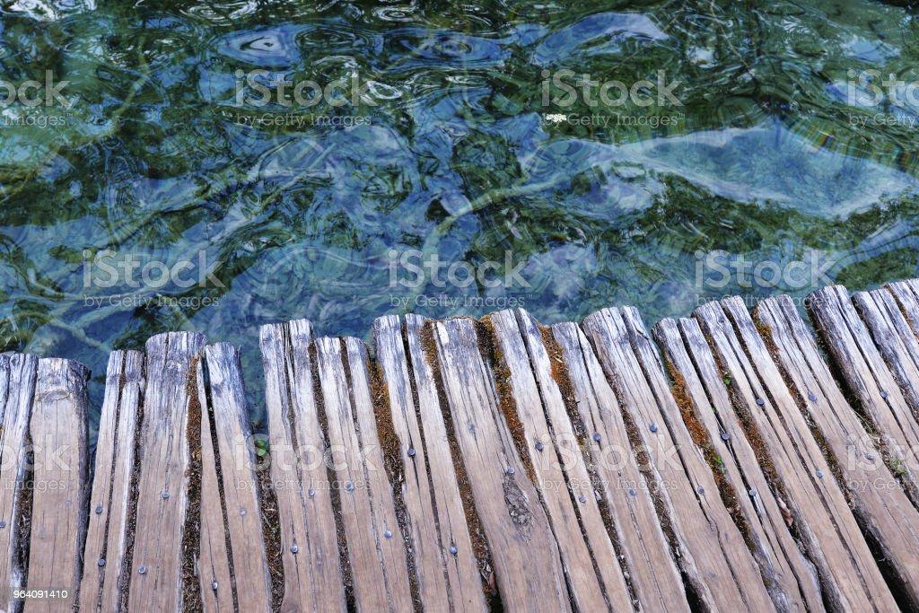 Wooden bridge - Royalty-free Boardwalk Stock Photo