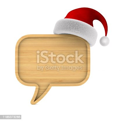 1128272390 istock photo wooden bubble speak on white background. Isolated 3D illustration 1185373285