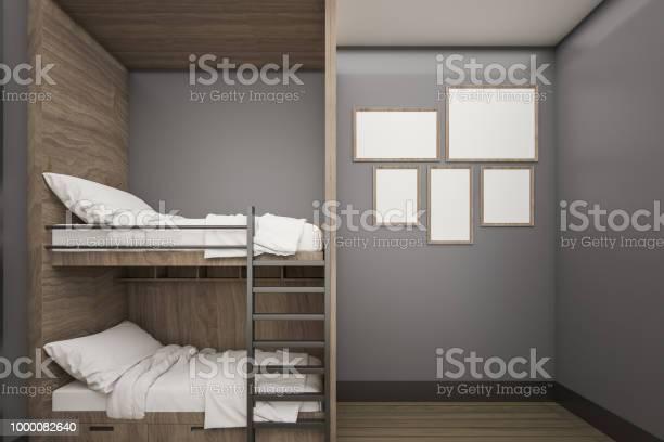 Wooden buck bed with mock up poster frame 3d rendering picture id1000082640?b=1&k=6&m=1000082640&s=612x612&h=jrm2ffysrs66fqljq92wkqynwv1hm ee elitsyxcfy=