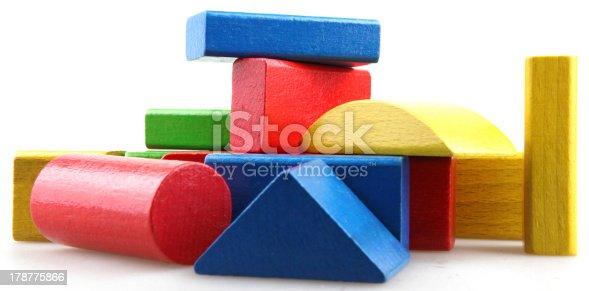 istock Wooden building blocks 178775866