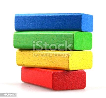 istock Wooden building blocks 179253613