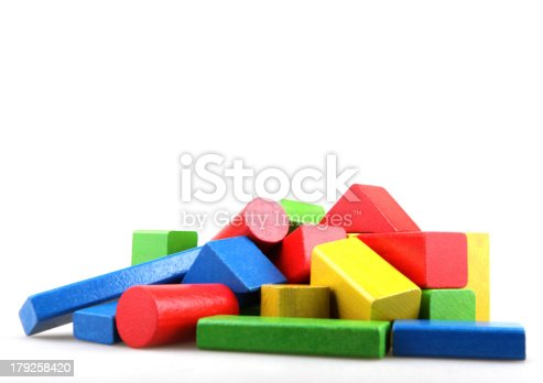istock Wooden building blocks 179258420