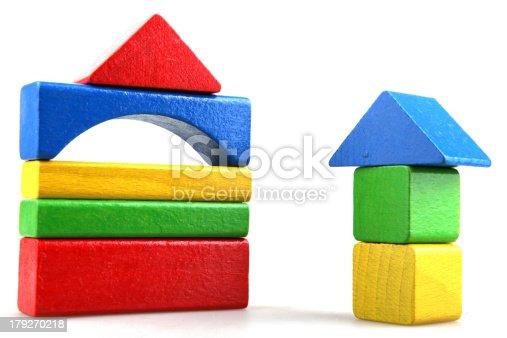 istock Wooden building blocks 179270218